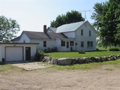 Cambridge Single Family Home For Sale: 366 Lien Veum Rd