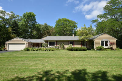 Mequon Single Family Home Active Contingent With Offer: 5410 W Elmhurst Dr