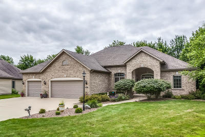 Pleasant Prairie Single Family Home For Sale: 8492 Northview Dr