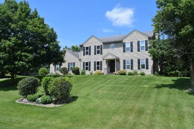 Waukesha Single Family Home Active Contingent With Offer: S46w25778 Shadow Ridge Dr