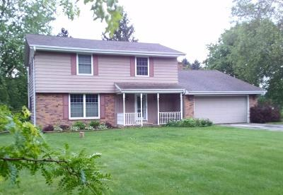 Cedarburg Single Family Home For Sale: 7847 Hill N Dale Ct