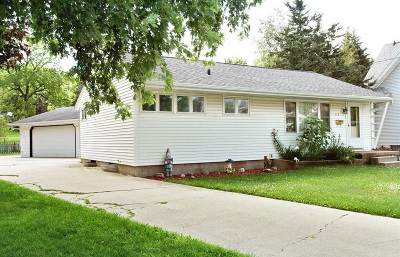 Mayville Single Family Home Active Contingent With Offer: 116 N German St