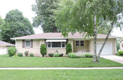 Fort Atkinson Single Family Home Active Contingent With Offer: 1004 W Cramer St
