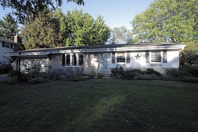 Cedarburg Single Family Home Active Contingent With Offer: W55n790 Cedar Ridge Dr