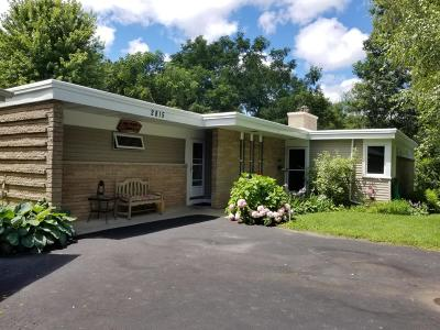 Racine Single Family Home Active Contingent With Offer: 2815 W High St