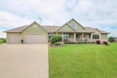 Campbellsport Single Family Home For Sale: W2147 Boulder Ct