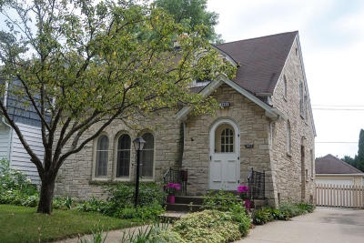Shorewood Single Family Home For Sale: 1623 E Beverly Rd