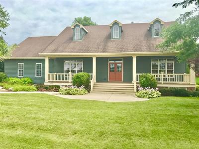 Jefferson County Single Family Home Active Contingent With Offer: W8219 Bridle Path