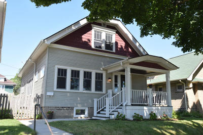 Milwaukee Single Family Home For Sale: 2747 S Taylor Ave