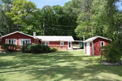 Campbellsport Single Family Home For Sale: N4103 State Road 67