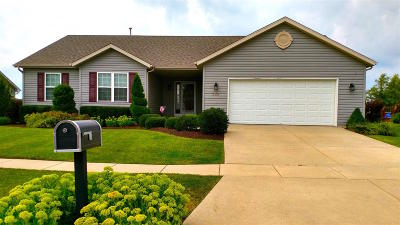 Walworth Single Family Home Active Contingent With Offer: 245 Cotton Grass Ln