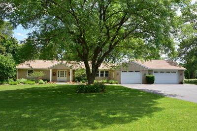 Mequon Single Family Home Active Contingent With Offer: 11244 N Riverland Rd