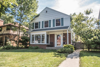 Shorewood Single Family Home For Sale: 4416 N Sheffield Ave.