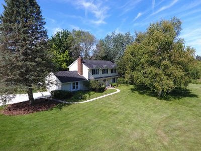 Cedarburg Single Family Home For Sale: 6751 Locksley Ln