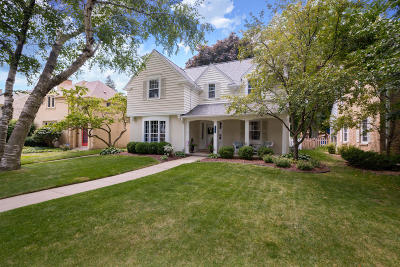 Whitefish Bay Single Family Home Active Contingent With Offer: 5241 N Berkeley Blvd