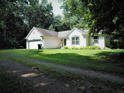 Jefferson County Single Family Home Active Contingent With Offer: N9349 Horseshoe Rd