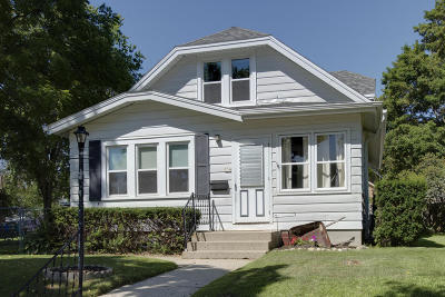 West Bend Single Family Home For Sale: 534 S 2nd Ave