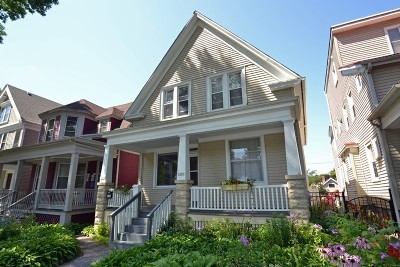 Two Family Home For Sale: 3209 N Bartlett Ave #3209A