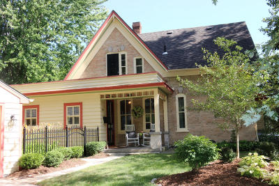 Cedarburg Single Family Home Active Contingent With Offer: W60n614 Jefferson Ave.