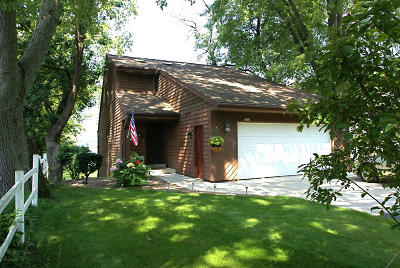 Racine County Single Family Home Active Contingent With Offer: 7032 Breezy Point Rd
