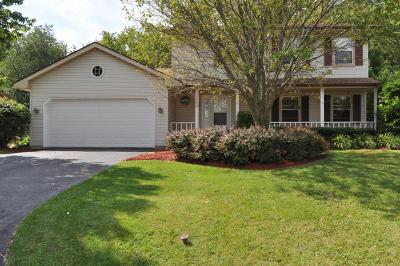 Racine Single Family Home Active Contingent With Offer: 2609 Stonebridge Dr