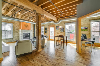 Milwaukee Condo/Townhouse For Sale: 418 N 3rd St #280