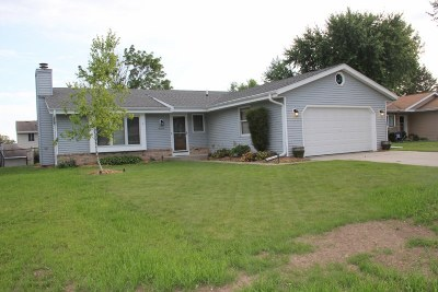 Jackson Single Family Home For Sale: N169w20249 Chateau Dr