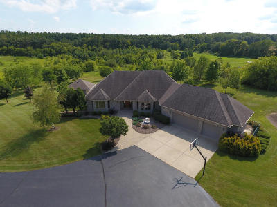 Whitewater Single Family Home For Sale: W8141 Clover Valley Rd
