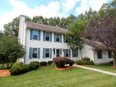 Jackson Single Family Home Active Contingent With Offer: N167w21251 South St