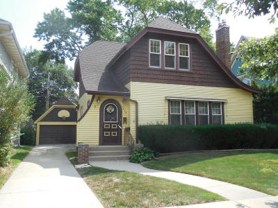 Racine Single Family Home For Sale: 1719 College Ave