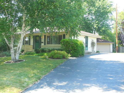 Menomonee Falls Single Family Home For Sale: W182n8603 Westchester Dr