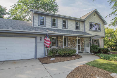Waukesha Single Family Home Active Contingent With Offer: 2200 Napa Trl