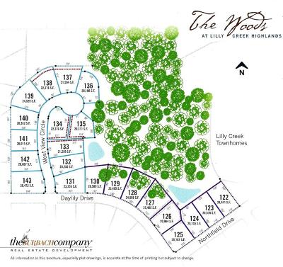 Residential Lots & Land Active Contingent With Offer: Lt124 Lilly Creek Highlands V