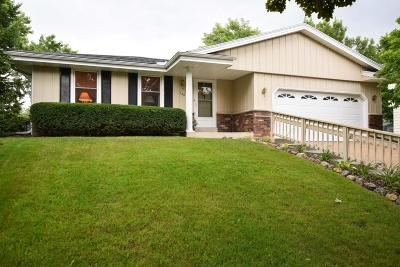 Waukesha Single Family Home Active Contingent With Offer: 120 Debbie Ct