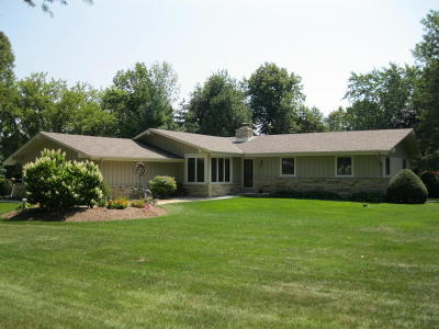 Waukesha Single Family Home Active Contingent With Offer: S64w24745 Susan St