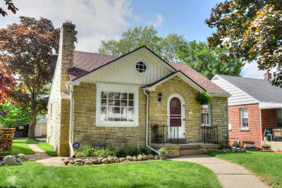 Whitefish Bay Single Family Home Active Contingent With Offer: 5265 N Bay Ridge Ave