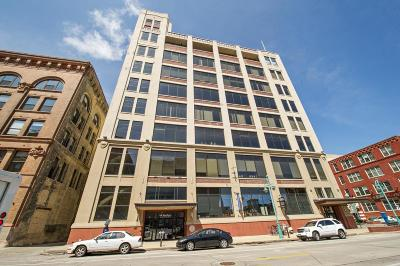 Milwaukee Condo/Townhouse Active Contingent With Offer: 320 E Buffalo St #808