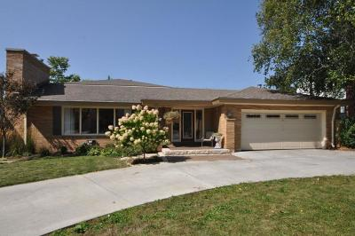 Whitefish Bay Single Family Home For Sale: 6121 N Lake Dr