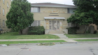 Milwaukee Multi Family Home For Sale: 4641 N 27th St