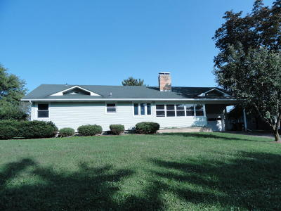 Fort Atkinson Single Family Home Active Contingent With Offer: W6425 Us Highway 12