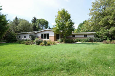 Grafton Single Family Home For Sale: 719 Kimberly Ct