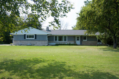 Saukville Single Family Home Active Contingent With Offer: 3179 County Road W