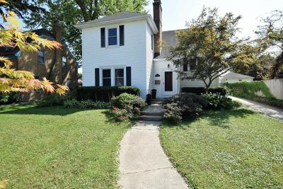 South Milwaukee Single Family Home Active Contingent With Offer: 615 Aspen St