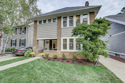 Shorewood Single Family Home Active Contingent With Offer: 4204 N Maryland Ave