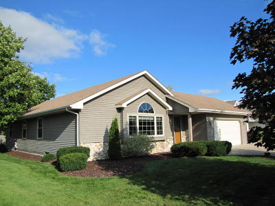 Racine Single Family Home Active Contingent With Offer: 5826 Winstar Ln