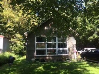Fort Atkinson Single Family Home For Sale: W7696 Blackhawk Island Rd