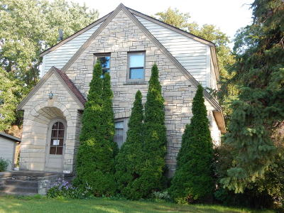 Single Family Home Active Contingent With Offer: 20195 W Main St