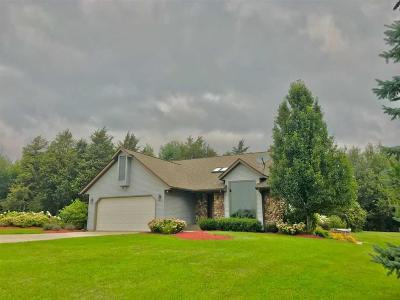 Cambridge Single Family Home Active Contingent With Offer: W8880 Us Highway 18