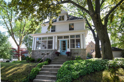 Milwaukee Single Family Home Active Contingent With Offer: 2431 E Holt Ave