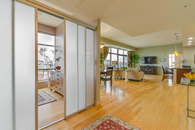 Milwaukee Condo/Townhouse Active Contingent With Offer: 106 W Seeboth St #803